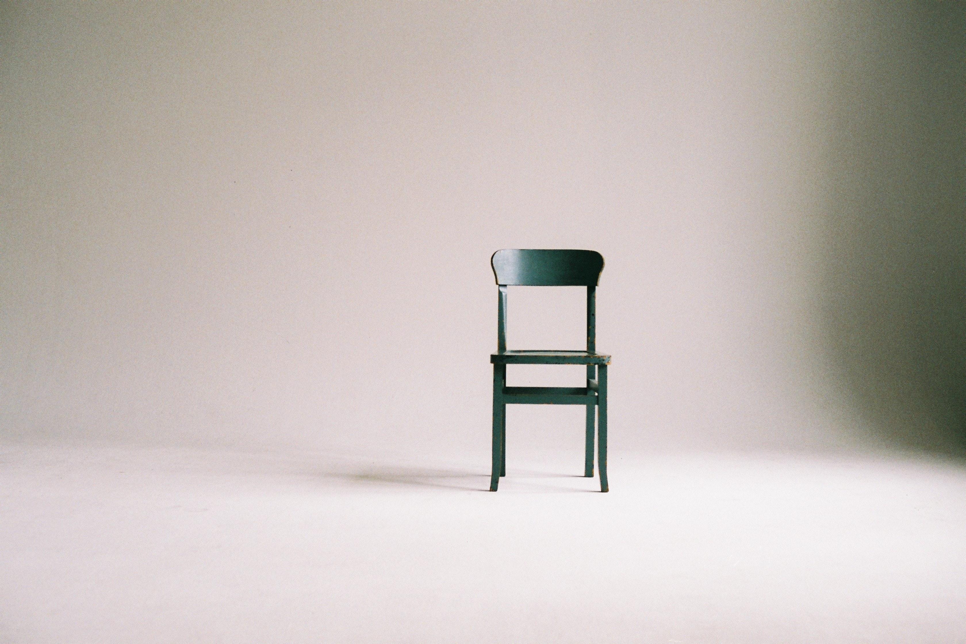 En modern stol
